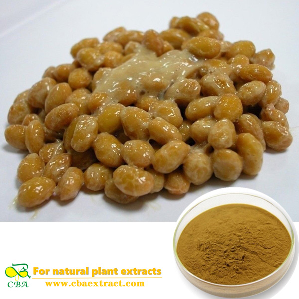 pure natural Natto Extract Powder Nattokinase powder