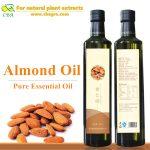 Organic skin care almond essential oil wholesale factory